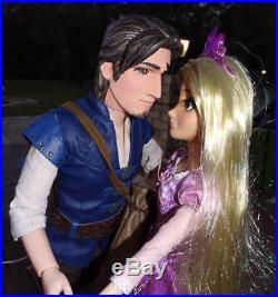 DISNEY STORE Tangled Prince FLYNN RIDER LE 18 CUSTOM DOLL OOAK Eugene Rapunzel