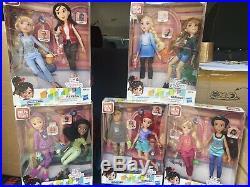 DISNEY'S RALPH BREAKS THE INTERNET Comfy Princess Doll LOT x5 SETS ALL NIB