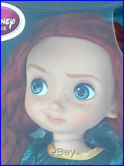 DISNEY Store ANIMATORS Collection MERIDA Doll 16 Sealed Box NEW