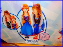 DISNEY frozen MY SIZE DOLL ANNA 38TALL FACTORY SEALED 2014 FIRST EDITION TARGET