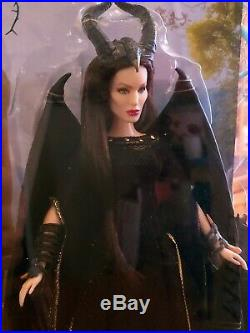 Dark Beauty Maleficent + Maleficent Royal Coronation Jakks Pacif 29cm Jolie Doll