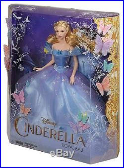 Disney 12 Royal Ball Cinderella Doll in Beautiful Blue Princess Dress For Girls