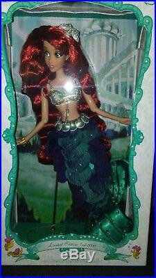 Disney ARIEL LIMITED EDITION DOLL 17 NEW 1 of 6000 Princess Ariel