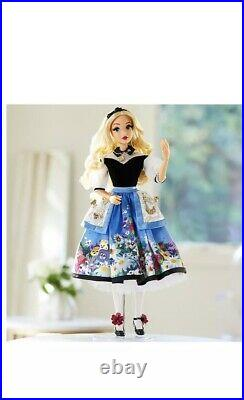 Disney Alice in Wonderland Doll 70th Anniversary Limited Edition. New In Box