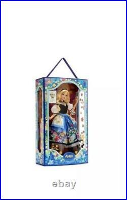 Disney Alice in Wonderland Doll 70th Anniversary Limited Edition. Sealed Box
