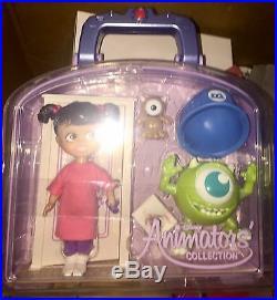 Disney Animator Babbling Boo Mini Doll Set NIP