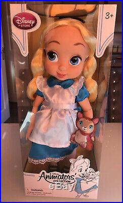 Disney Animator Collection Alice in Wonderland Doll BNIB
