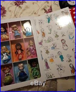 Disney Animator Mini Doll Set Collection Princess Gift Set 2016