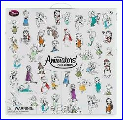 Disney Animator Mini Doll Set Collection Princess Gift Set Belle Ariel & more