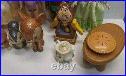 Disney Animator's Mini Doll Pets Lot Rapunzel Snow White Tiana Cinderella Anna