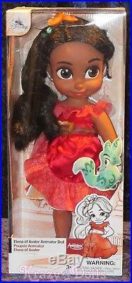Disney Animators' Collection 16 Toddler Doll Elena of Avalor New