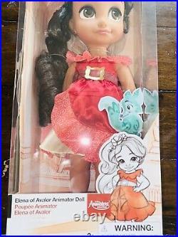Disney Animators Collection 16 Toddler Doll Elena of Avalor New Rare