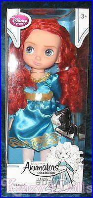 Disney Animators' Collection 16 Toddler Doll Princess Merida Series 3 New