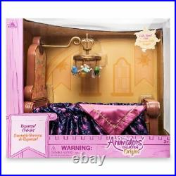 Disney Animators Princess Rapunzel Baby Crib Set Nib