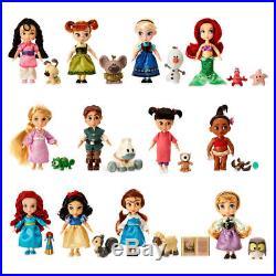 Disney Animators' Princess with Pets Collection Mini Doll Gift Set 12 Dolls
