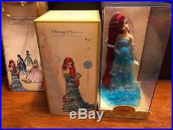 Disney Ariel Princess Little Mermaid Designer Doll Limited Edition New Nib Le