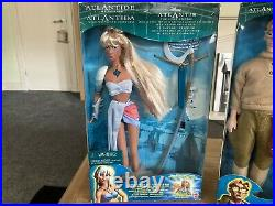 Disney Atlantis Dolls