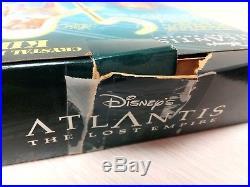 Disney Atlantis Lost Empire Set 2 Milo Thatch Kida Crystal Princess Mattel New