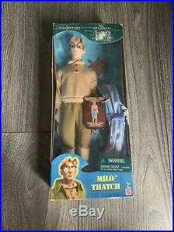 Disney Atlantis The Lost Empire Crystal Princess 29327/ Milo 29810 Mattel Dolls