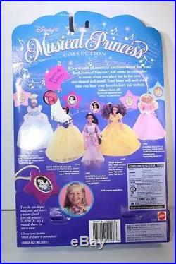 Disney Bubble Princess 1995 SleepingBeauty Belle Cinderella Jasmine Snow White