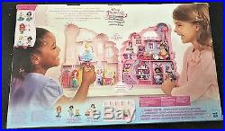 Disney Cinderella Castle of The Mini Princesses Ages 4+ New Toy Girls Doll House
