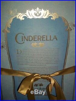 Disney Cinderella Limited Edition Doll Live Action Film 17'' LE 4000