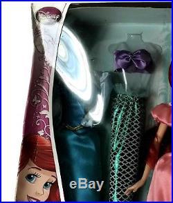 Disney Collection Princess The Little Mermaid Ariel Doll Wardrobe Set New