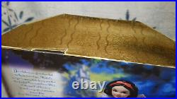Disney Collector Doll Enchanted Princess Snow White and the Seven Dwarfs