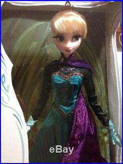 Disney Coronation ELSA Limited Edition Doll 17 NRFB OOAK Orb and Sceptre