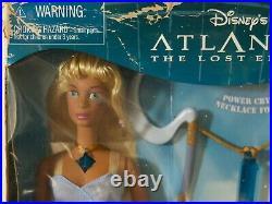 Disney Crystal Princess KIDA doll ATLANTIS Mattel 2000 RARE Damaged Box