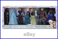 Disney DELUXE Doll GIFT SET Frozen 4 Dolls Anna ELSA HANS & KRISTOFF Coronation
