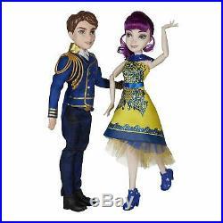 Disney Descendants 2 Mal Isle of the Lost & Ben Auradon Prep Doll Set BRAND NEW