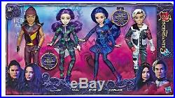 Disney Descendants 3 Isle of the Lost Collection Doll Set Evie Mal Jay Carlos