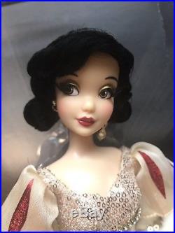 Disney Designer Premiere Series Princess Snow White Doll LE NEW 2626 Out Of 4100