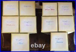 Disney Designer Princess Doll Collection! Bonus Mug Set Rare! Limited Edition