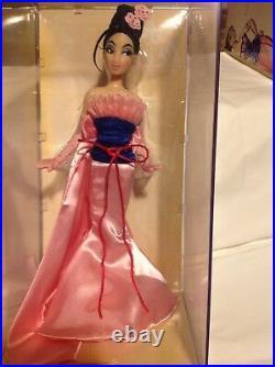 Disney Designer Princess Mulan Doll LIMITED EDITION LOW 2484 of 6000 NRFB