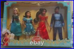 Disney Elena Of Avalor Dolls 4 Piece Set 1- 10 3- 12 Rare Hard To Find Set C1