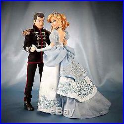 Disney Fairytale Designer Collection Cinderella & Prince Charming Doll Set NIB
