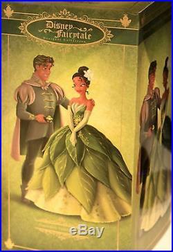 Disney Fairytale Designer Collection Doll Couple Pre-Order TIANA NAVEEN PRINCESS