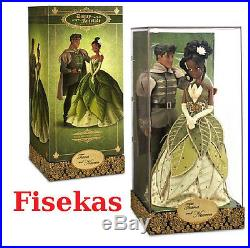 Disney Fairytale Designer Collection LE Tiana and Prince Naveen Doll 11.5 in NEW