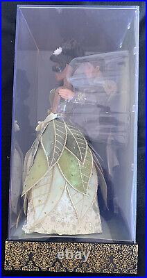 Disney Fairytale Designer DFDC Princess And The Frog Tiana & Naveen Doll Set New
