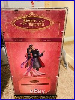 Disney Fairytale Designer Doll Couple Princess Mulan Limited Edition