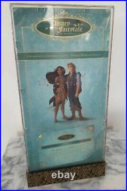Disney Fairytale Designer Doll Set Pocahontas John Smith Limited Edition