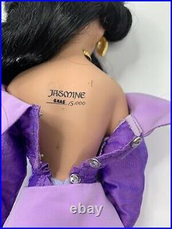 Disney Fairytale Designer Princess Jasmine & Aladdin 17 Limited Edition Dolls