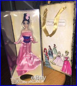 Disney First Designer MULAN doll 2011 & bag LE Limited Edition figure princess