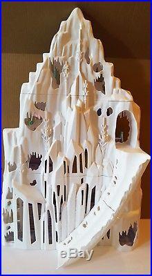 Disney Frozen Anna Elsa Princess Dolls 2 In 1 Castle Palace Playset Dollhouse++