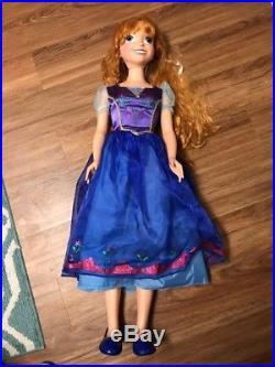 Disney Frozen Anna and Elsa Sets Life Size Dolls