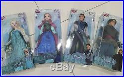 Disney Frozen Classic Doll 12' Inches Princess Elsa Anna Kristoff Hans Original
