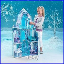 Disney Frozen Dollhouse Girls Dream Barbie Size Doll House Castle Princess Toy N