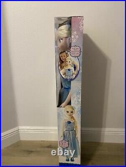 Disney Frozen Elsa 1st Edition My Size Doll 2014 38 Tall Jacks Pacific New